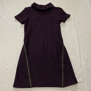 Theory Vyla Comfort Knee Length Wool Dress